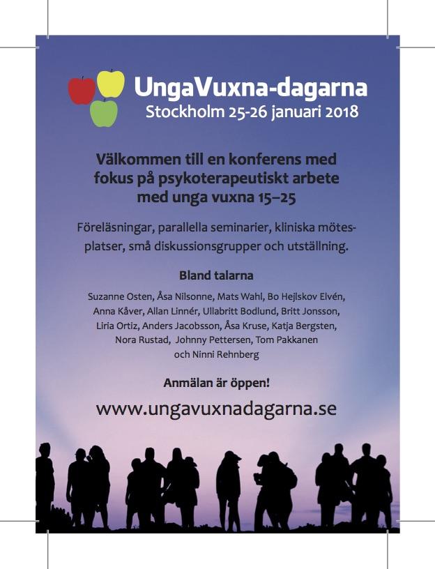 UngaVuxna-dagarna 82,5x115 mm